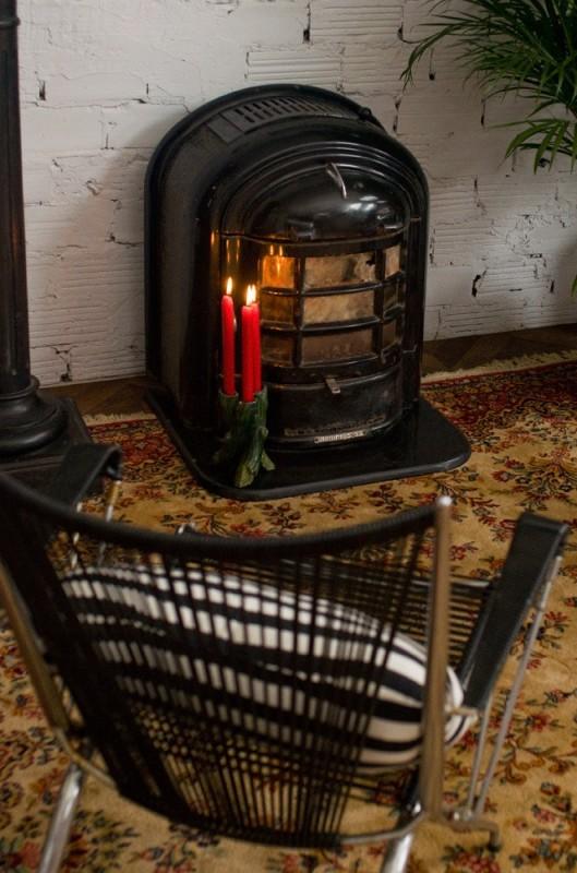 poele a bois ancien vintage retro nestor martin ariane 5355. Black Bedroom Furniture Sets. Home Design Ideas