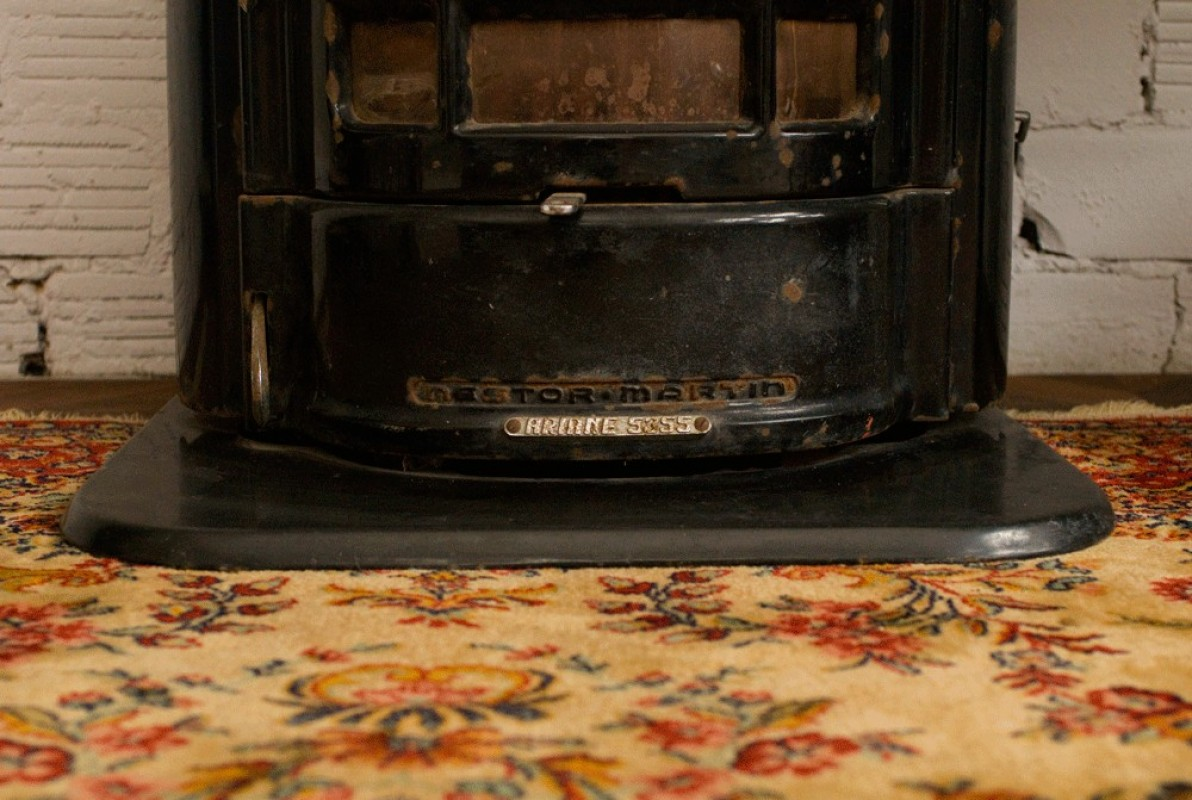 poele a bois, ancien, vintage, retro, nestor martin, ariane 5355, # Poele A Bois Nestor Martin