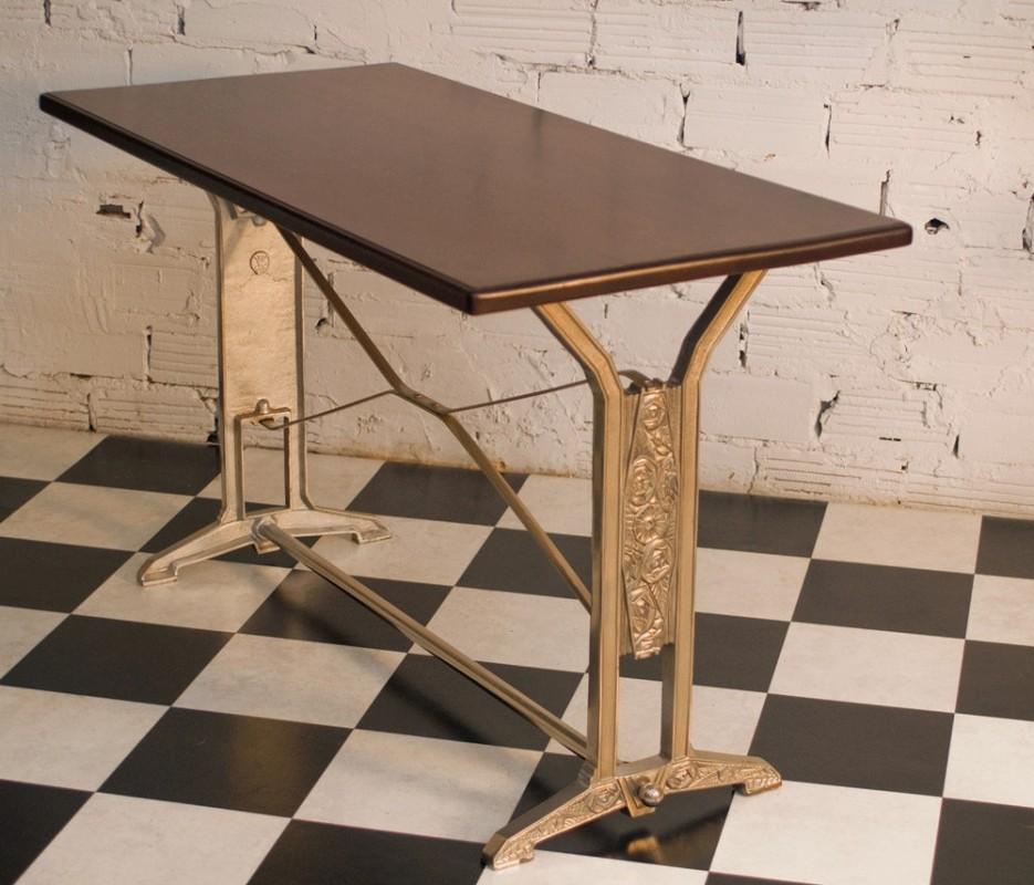Table art d co vintage r tro ancienne bistrot salle for Deco cuisine 1930