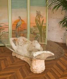Table basse Sirène, années 70