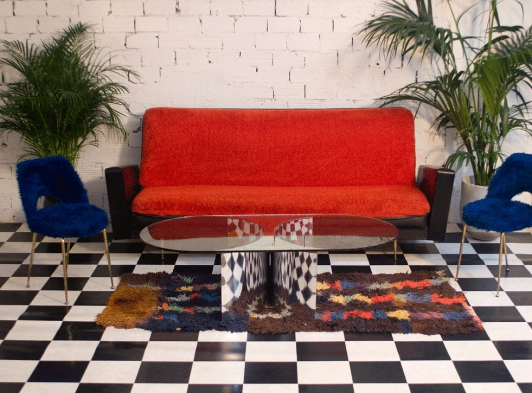 Canap vintage ann es 50 meuble mobilier vintage d co 70s Sofas 50 sarria de ter