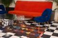 50's vintage sofa bed