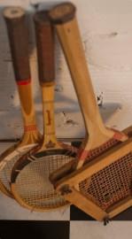 Raquettes de tennis rétro