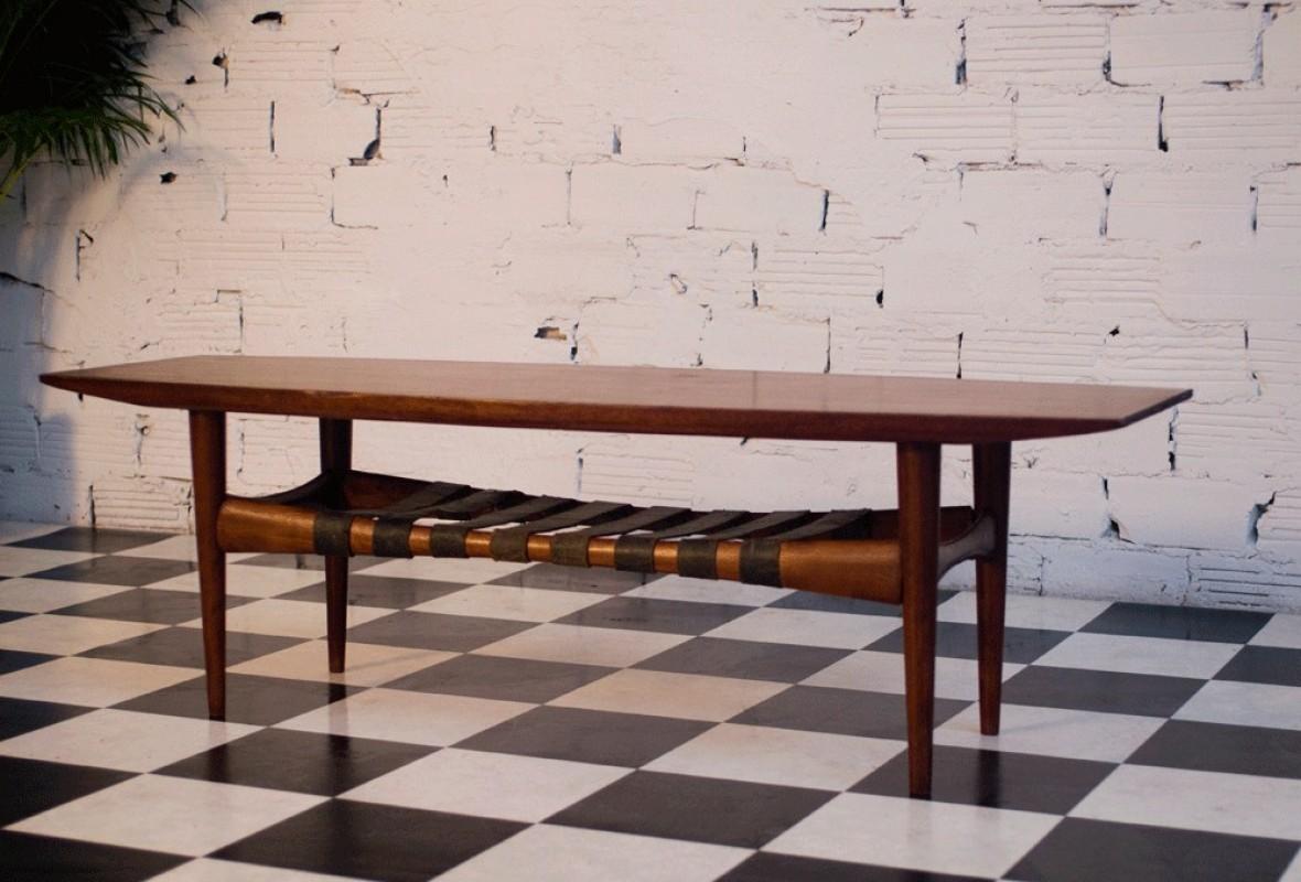 Table basse scandinave vintage ann es 50 ann es 60 70 - Table basse annee 50 60 ...