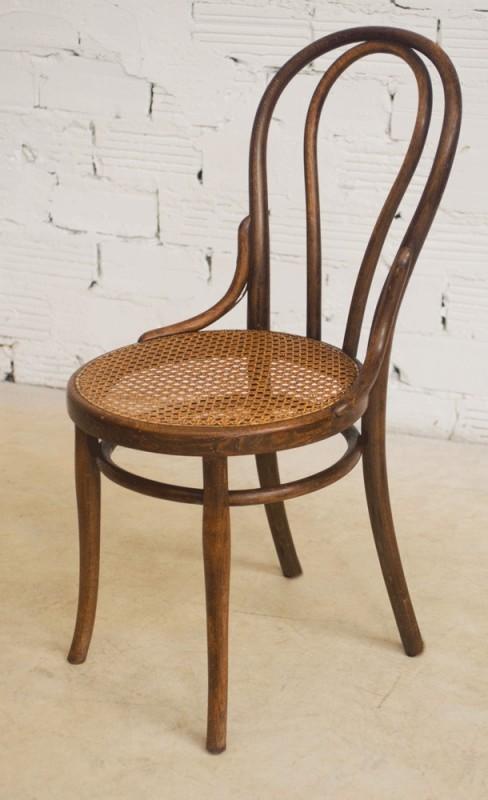 chaises thonet ancienne authentique originale bois. Black Bedroom Furniture Sets. Home Design Ideas