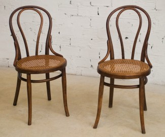 Thonet Bistro Chairs, 1920 - SOLD