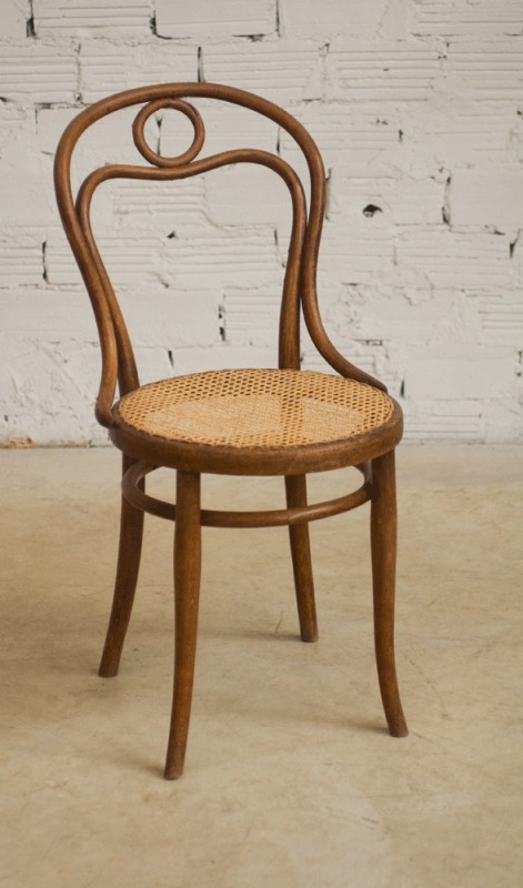 Chaise bistrot thonet ancienne vintage r tro 1920 for Cannage chaise paris