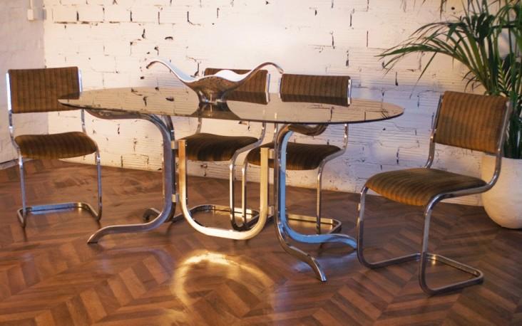 Ensemble table salle à manger 70s