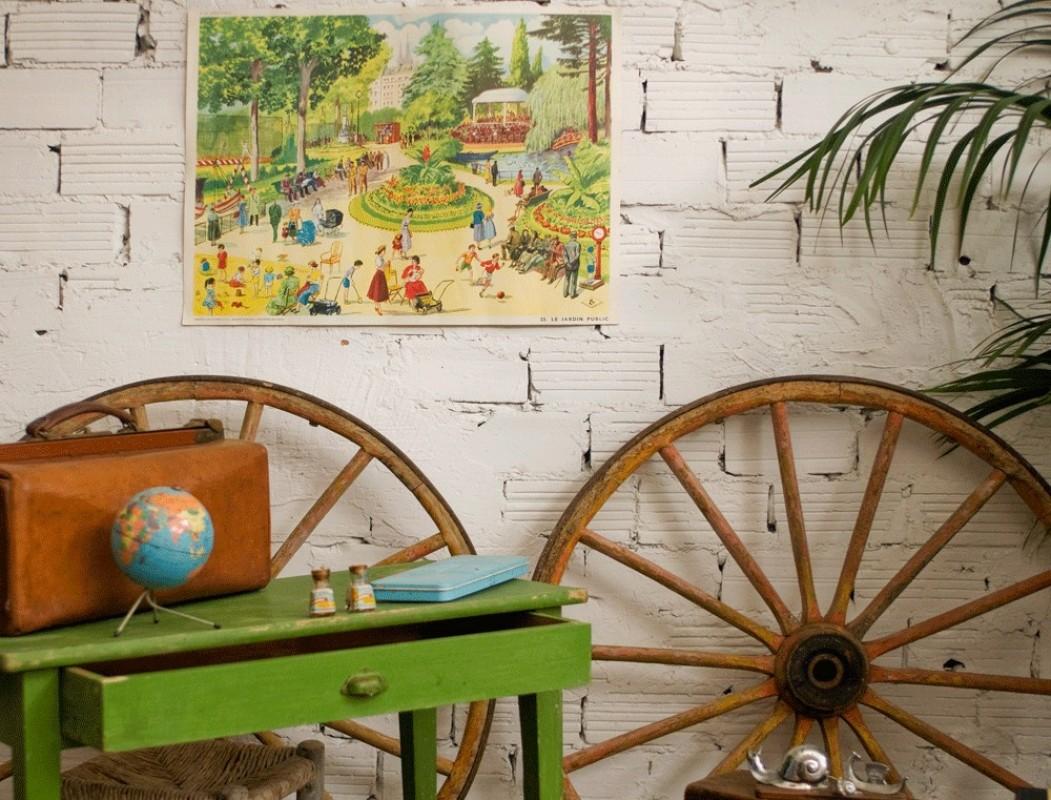 Affiche scolaire, carte scolaire, école, rétro, ancienne, vintage ...