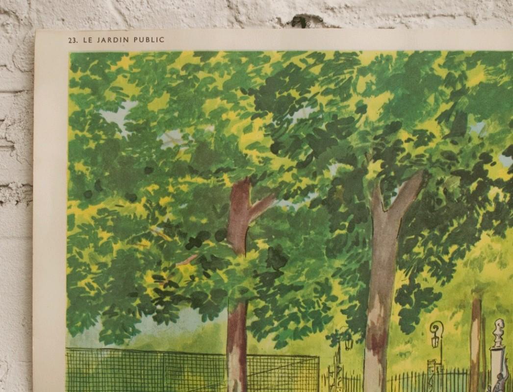 affiche scolaire carte scolaire cole r tro ancienne vintage rossignol carte ann es 50. Black Bedroom Furniture Sets. Home Design Ideas