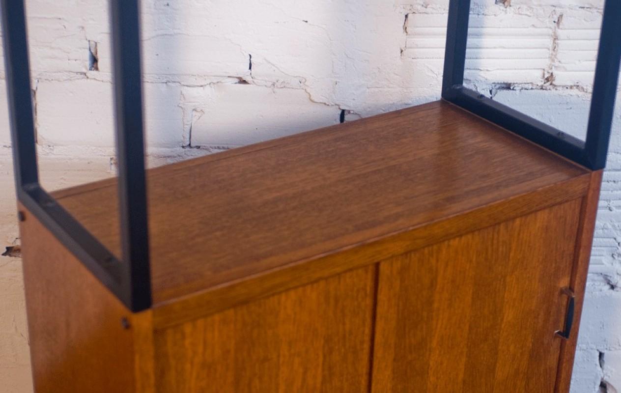 meuble mobilier vintage meuble de rangement tag re vitrine haut ann es 50. Black Bedroom Furniture Sets. Home Design Ideas