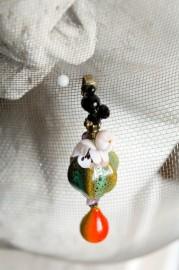 """Fancy earrings """"The Orchard"""""""
