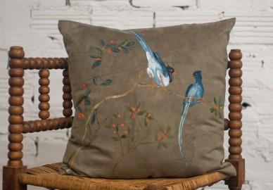 Coussin décoratif artisanal