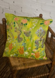 Hand Painted Cushion