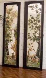 Napoleon III  Hand Painted Castle Doors