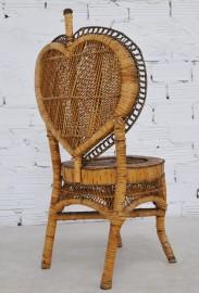 20's rattan chair