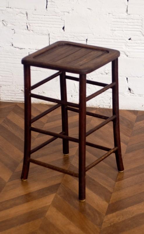 Tabouret en bois vintage r tro tabouret d 39 atelier atelier 1950 50s - Tabouret d atelier vintage ...