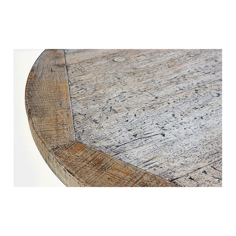 Large Round Farm House Wood Table Country Table