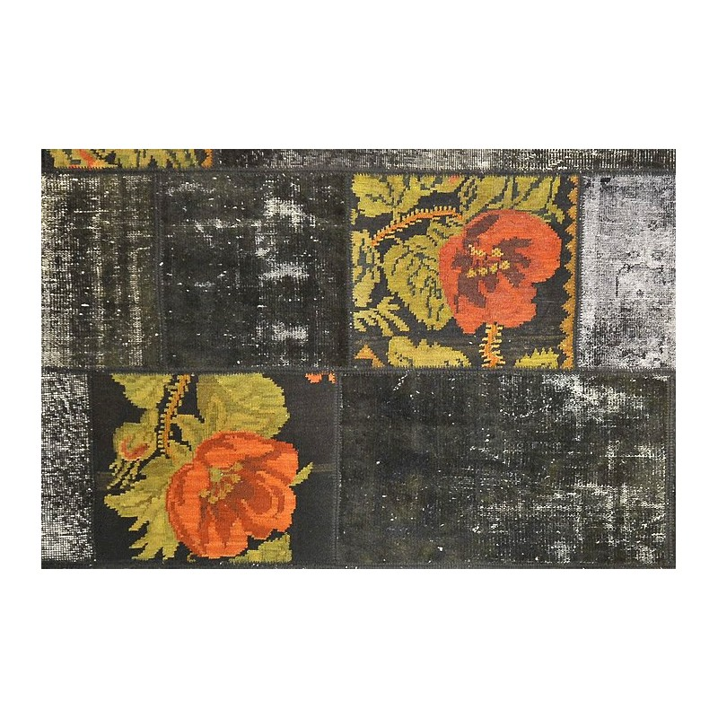 tapis patchwork vintage tapis turcs tapis ancien tapis marocains tapis berbere tapis. Black Bedroom Furniture Sets. Home Design Ideas