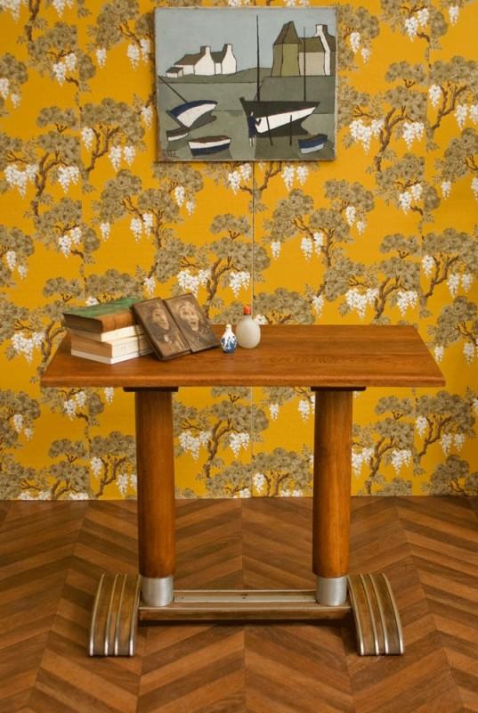 table bistrot vintage ann es 30 1930 table de bistrot ancienne bois. Black Bedroom Furniture Sets. Home Design Ideas