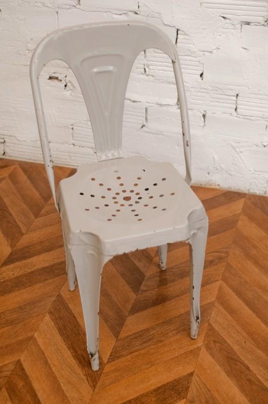 Tolix chaise a chaises en m tal chaises en tole for Chaise tole