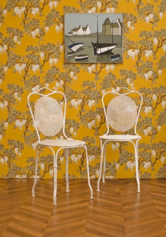 Chaises de jardin en fer architecture design - Chaises de jardin en fer forge ...