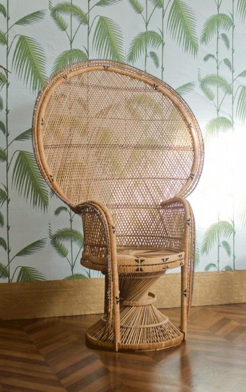 fauteuil en rotin ancien ann e 1880 fin xixeme 19eme. Black Bedroom Furniture Sets. Home Design Ideas