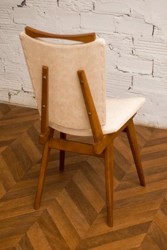 chaise ann es 30 ann es 40 1940 art d co moleskine. Black Bedroom Furniture Sets. Home Design Ideas