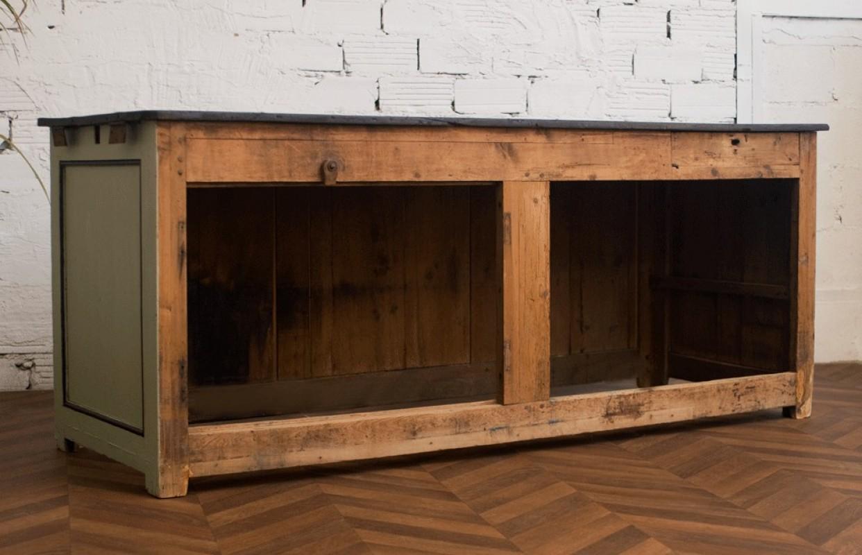 Comptoir comptoir bar comptoir bar ancien vintage for Comptoir bar meuble