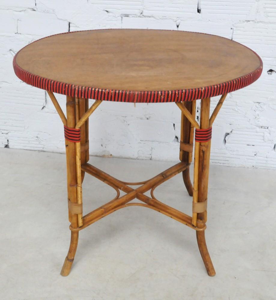 Vintage pedestal table 30 40 39 s vintage furniture home decor - Mobilier jardin vintage ...