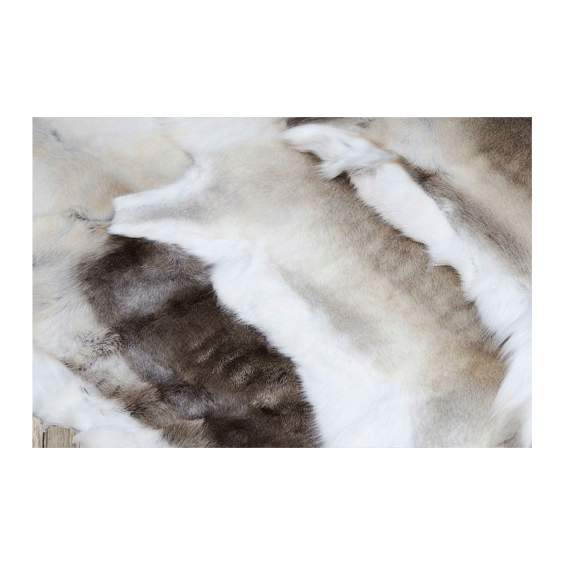 peau de rennes tapis peau de rennes peau de b te douce chaleureuse. Black Bedroom Furniture Sets. Home Design Ideas
