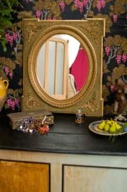 """Miroir """"Eugénie"""" dans le style XVIIIème"""