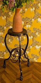 1930 Sculpted Wrought Iron Fifth