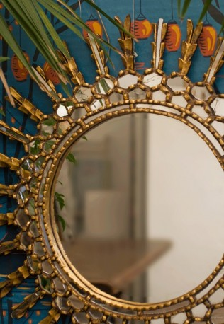"""Miroir """"Roi Soleil"""""""