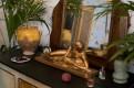 Grand miroir lyre