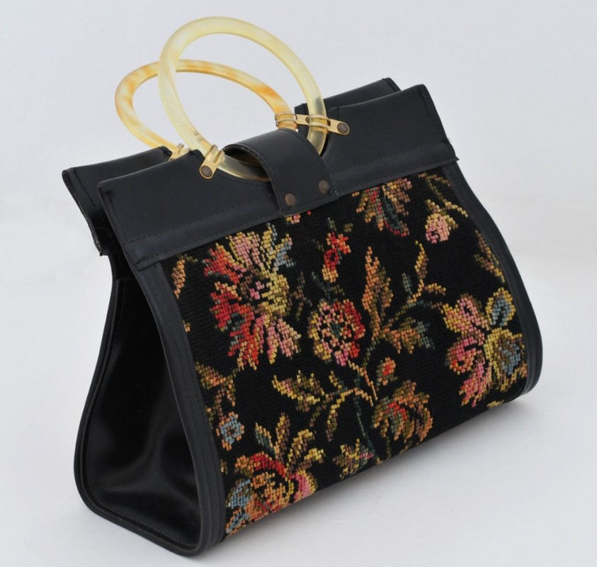 sac main vintage accessoires mode anciens objet de. Black Bedroom Furniture Sets. Home Design Ideas