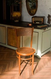 Wooden Bistro Chair, Thonet Style