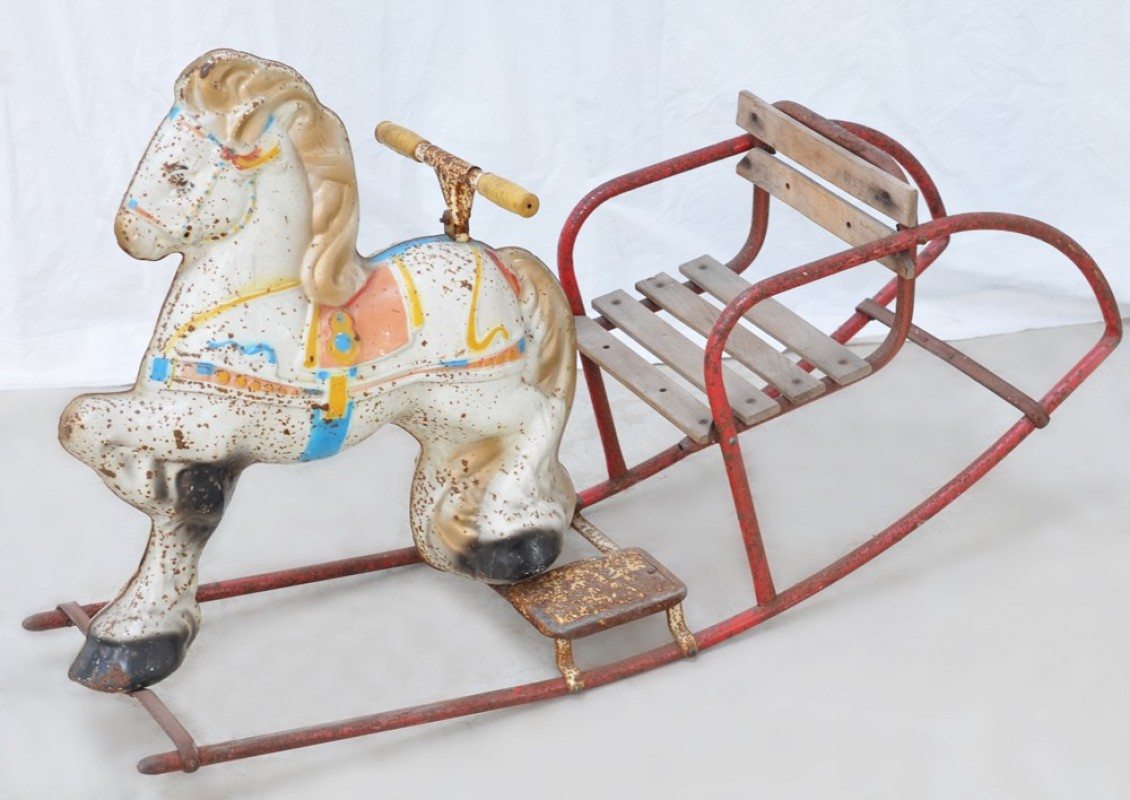 Vintage decorative metal carriage opinion you