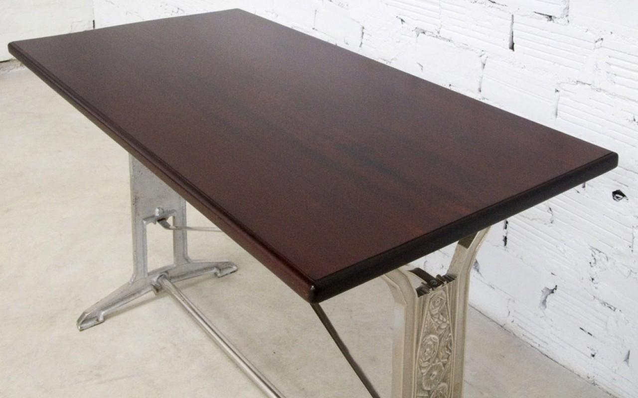 table art d co vintage r tro ancienne bistrot salle manger cuisine 1930 deco bistrot. Black Bedroom Furniture Sets. Home Design Ideas