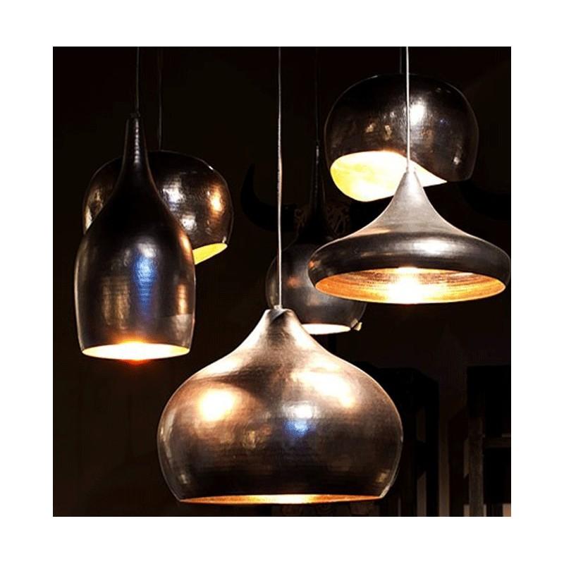 supension moderne cuivre noir luminaire lampe. Black Bedroom Furniture Sets. Home Design Ideas