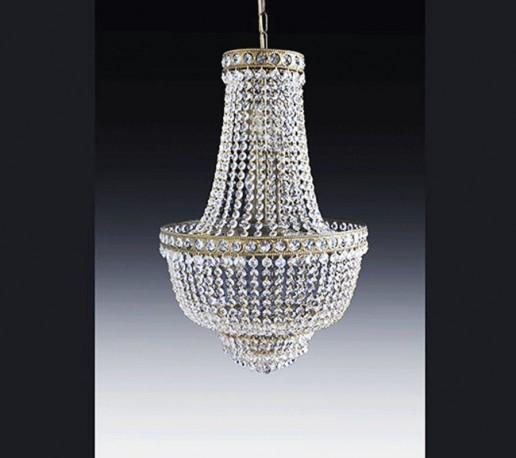 lustre montgolfiere en cristal sissi de 60cm de diam tre sur 80cm de hauteur. Black Bedroom Furniture Sets. Home Design Ideas