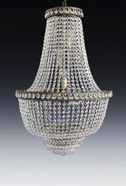 "Lustre cristal ""Sissi"" - ∅ 80cm"