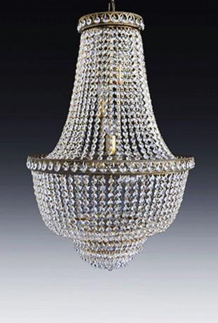 grand lustre cristal sissi m tal dor patin antique. Black Bedroom Furniture Sets. Home Design Ideas