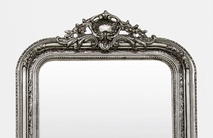 Miroir d coratif miroir chemin e de chemin e argnet for Miroir cheminee