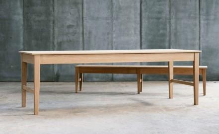 """Bretagne"", Solid Oak Dining Table"