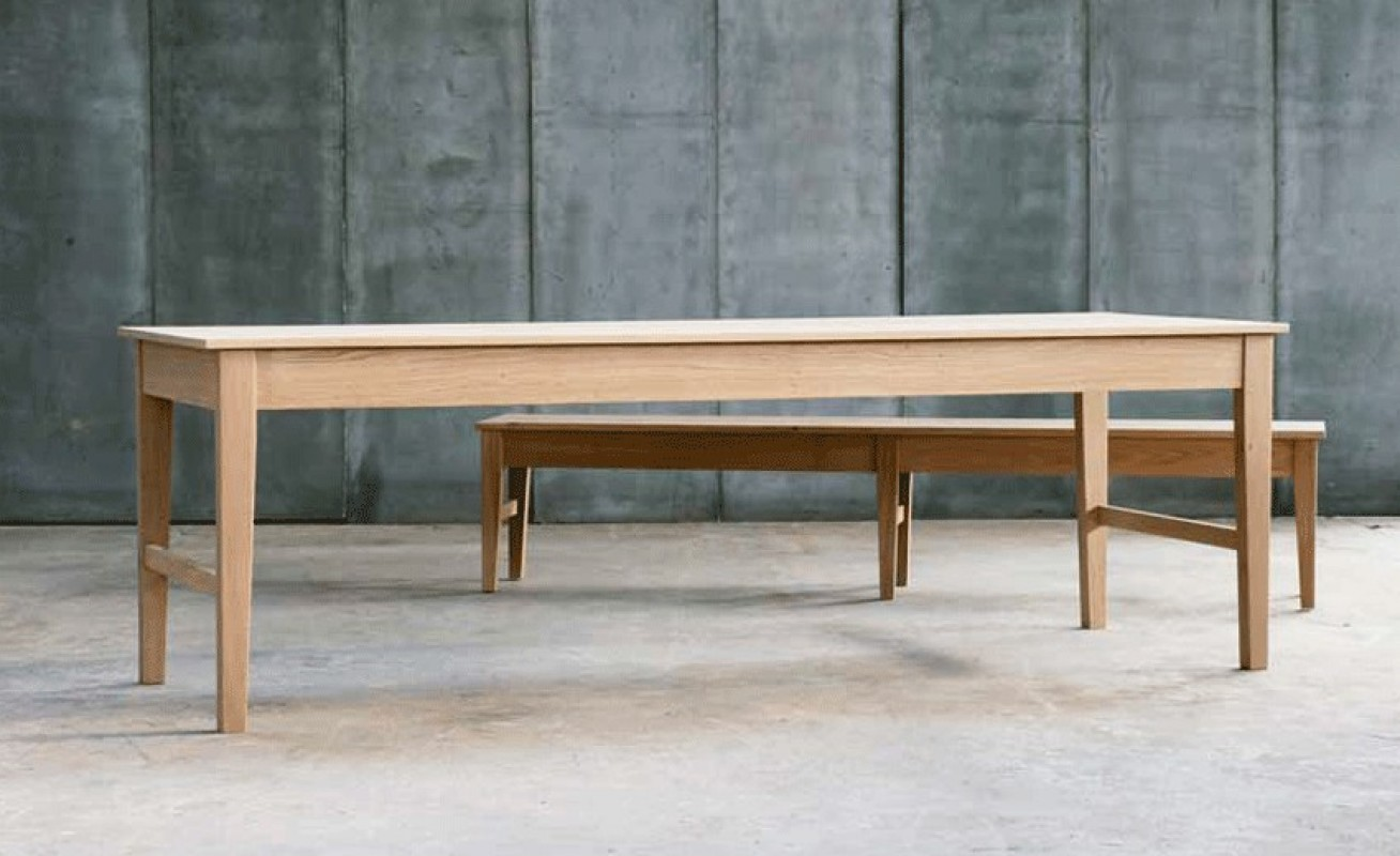 Bespoke, table, farmhouse, wooden table, solid oak, made in ...