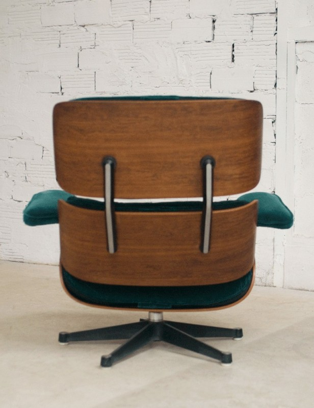 Lounge chair eames charles ray eames charles eames for Fauteuil charles eames patchwork