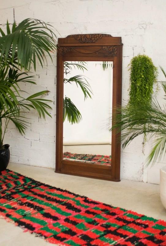Grand miroir Art-Déco