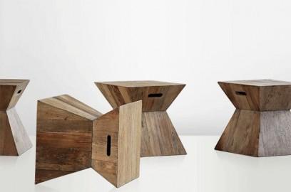 Table basse-guéridon Cubiste