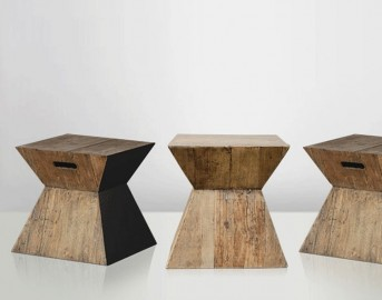 Black Pedestal Table